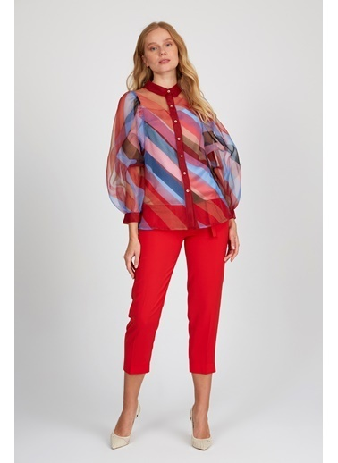 Setre Gömlek Kırmızı